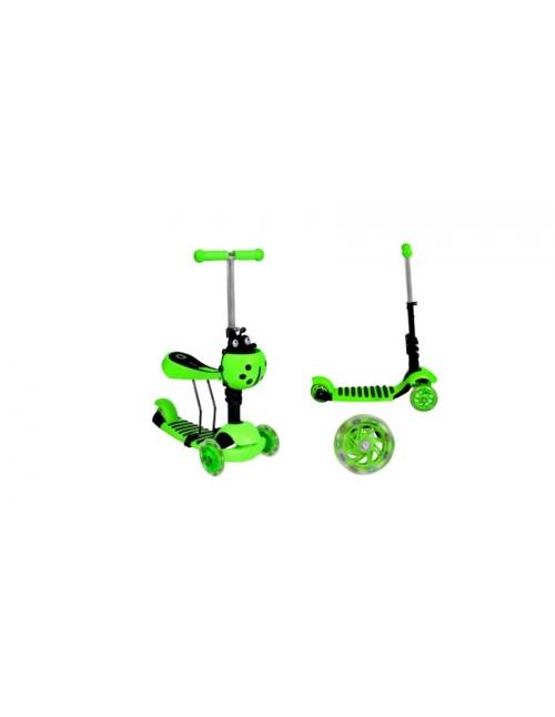 Mini Scooter Zadel Step Met 3 Wielen...