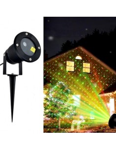 HA-MA Kerst projector LED -...