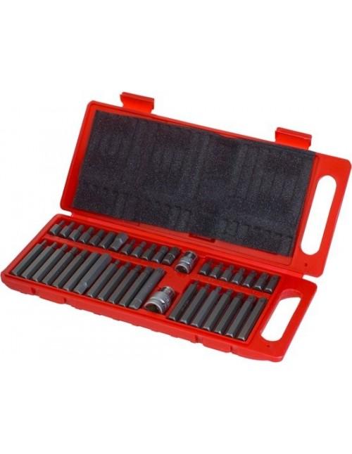 Onex 40-delige Inbus Torx en Spline Bit Set - in Koffer