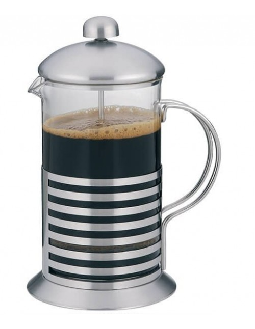 Lunai Koffie-/Theemaker - Glas - Roestvrij Staal - French Press - 800 ml