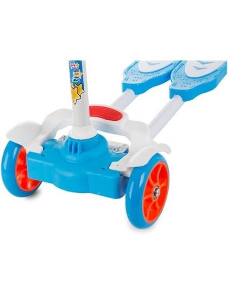 Vierwiels Balance Scooter - Blauw