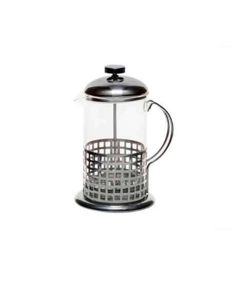Lunai Koffie-/Theemaker - Glas - Roestvrij Staal - French Press - 350 ml
